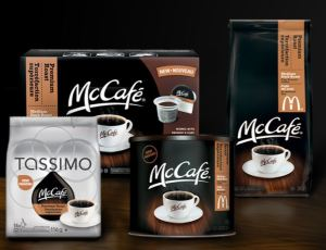 mccafe product line